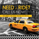 Taxi Cab Drive Business Flyer V2 - GraphicRiver Item for Sale