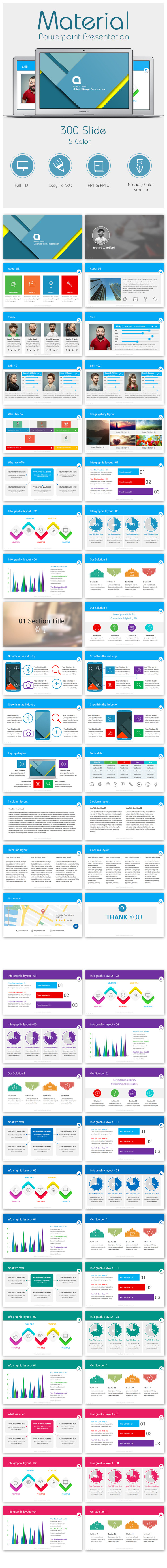 GraphicRiver Material Powerpoint Presentation Templates 11166144