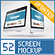 52 Responsive Screen Mockup - GraphicRiver Item for Sale
