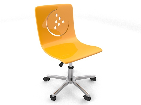 3DOcean modern child room chair 11166195