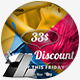 Sale & Discount Web & Facebook Banners Ads - GraphicRiver Item for Sale