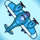 Airplane Game Sprite