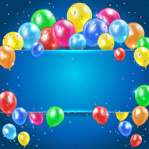 GraphicRiver Balloons 11166547