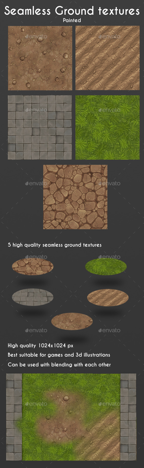 GraphicRiver Seamless Ground Textures 11166658