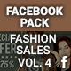 Facebook Pack - Fashion Sales Vol. 4 - GraphicRiver Item for Sale