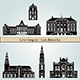 Groningen Landmarks and Monuments - GraphicRiver Item for Sale