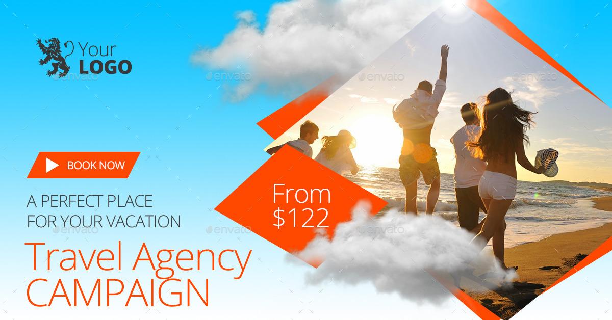 Travel Agency Banner Design