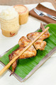 Roasting chicken with sticky rice - PhotoDune Item for Sale