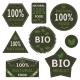 Bio Labels and Symbols  - GraphicRiver Item for Sale