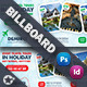 Travel Tour Billboard Templates - GraphicRiver Item for Sale