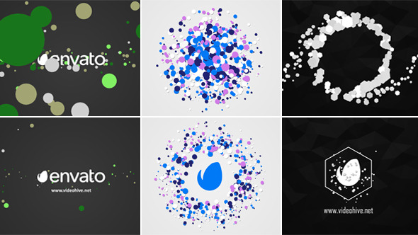 Quick Particles Logo Pack 03 (Logo Stings)