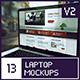 4 Laptop Screen Mockups v2 - GraphicRiver Item for Sale