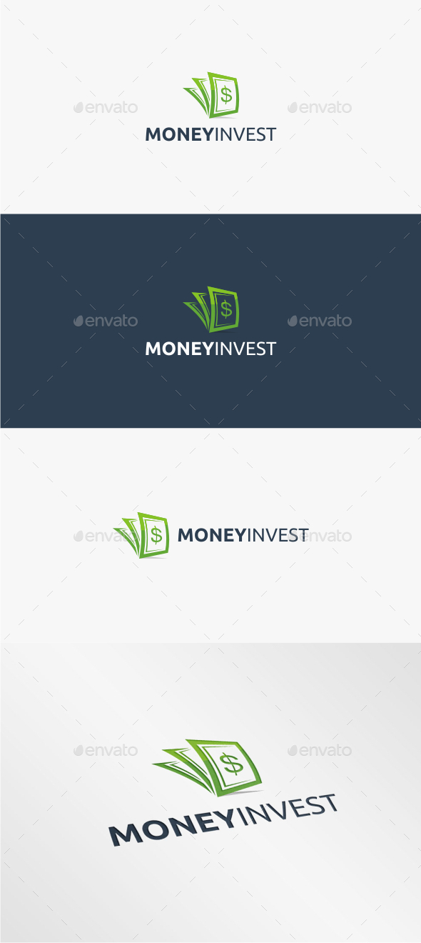 GraphicRiver Money Invest Logo Template 11168366