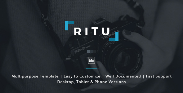 ThemeForest Ritu Muse Template 11168431