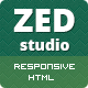 ZED - Premium Portfolio and Business HTML Template - ThemeForest Item for Sale