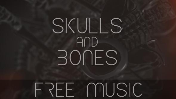 VideoHive Skulls and Bones 11047092