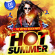 Hot Summer Flyer Template - GraphicRiver Item for Sale