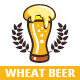 Wheat Beer Logo Template - GraphicRiver Item for Sale