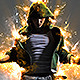 Impressionist Fire - Photoshop Action - GraphicRiver Item for Sale