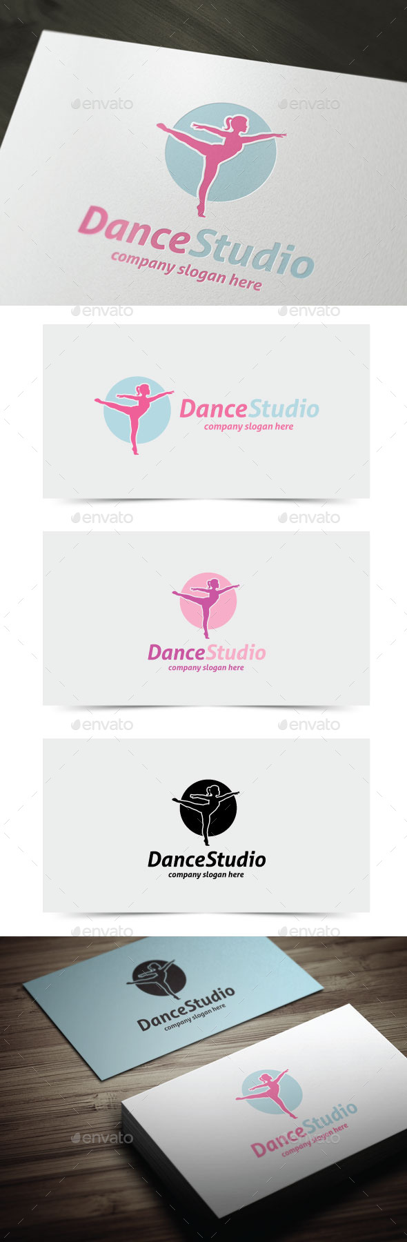 GraphicRiver Dance Studio 11169872