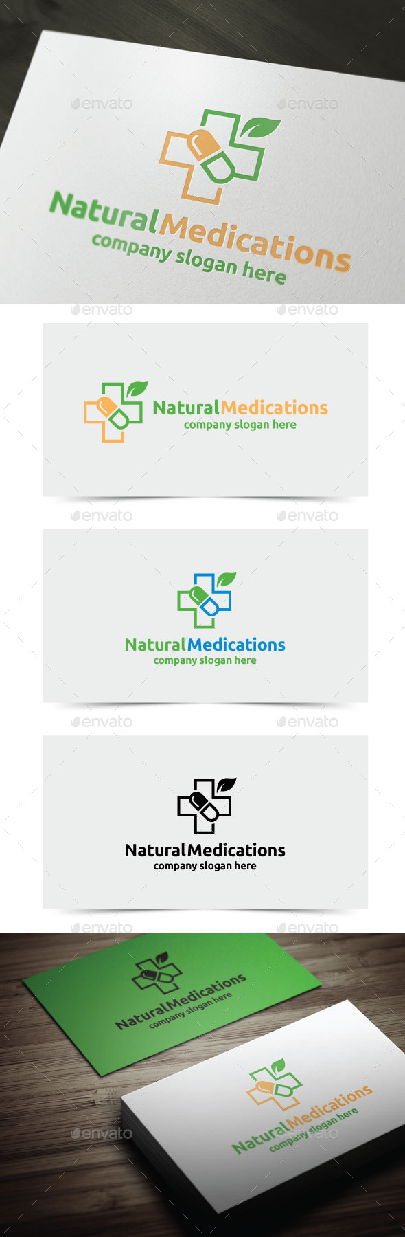 GraphicRiver Natural Medications 11170032