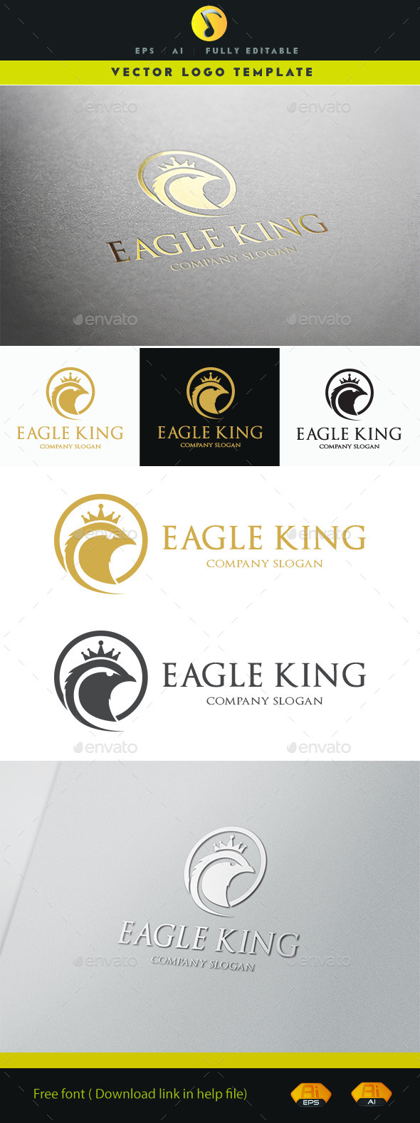 GraphicRiver Eagle King 11170033