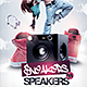Sneakers 'n Speakers - GraphicRiver Item for Sale
