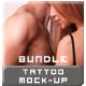 Tattoo Mock-up Bundle (Men & Women) - GraphicRiver Item for Sale