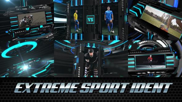 AE模板:极限运动体育广播栏目包装展示 AE11051767