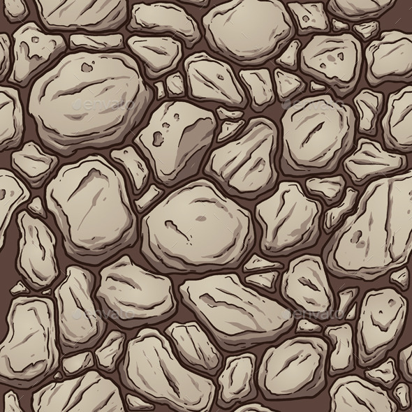 GraphicRiver Seamless Rock Pattern 11170459