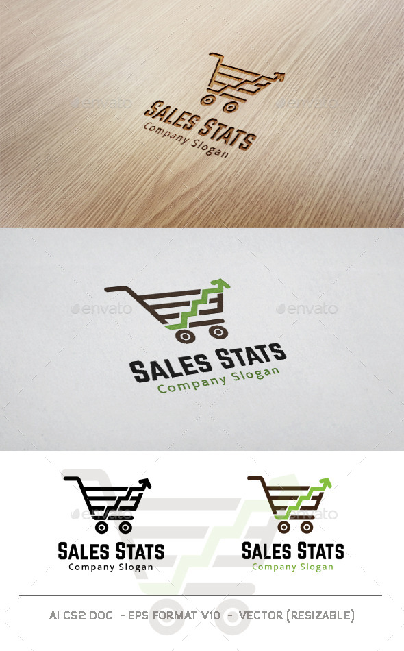 GraphicRiver Sales Stats Logo 11170529