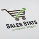 Sales Stats Logo - GraphicRiver Item for Sale