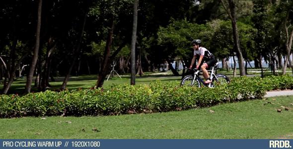 Pro Cycling Warm Up