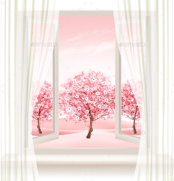 GraphicRiver Spring Background 11162152