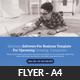 Seo Business Marketing Psd Flyer Template