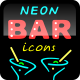 Neon Bar Icons - VideoHive Item for Sale