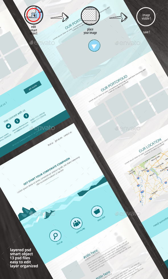 GraphicRiver -Iceland- Multipupose Email Newsletter templates 11170770