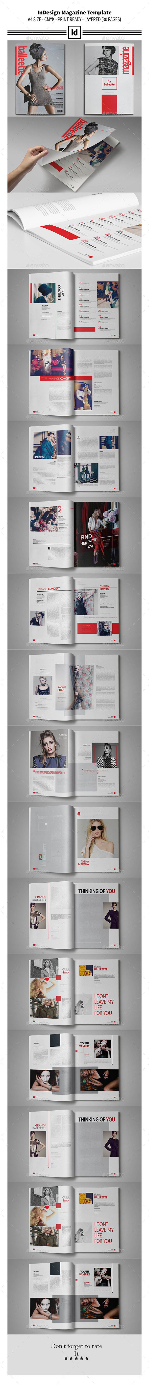 GraphicRiver Multipurpose InDesign Magazine Template 11170959