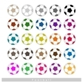 Set of Multi-colored Footballs or Soccer Balls - PhotoDune Item for Sale
