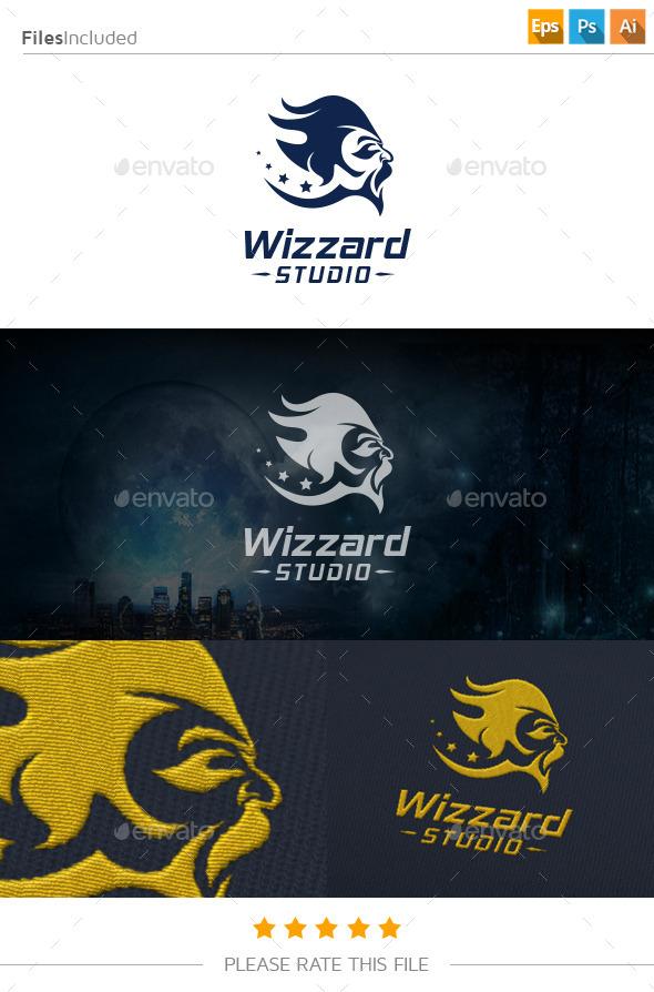 GraphicRiver Wizard Logo 11171135