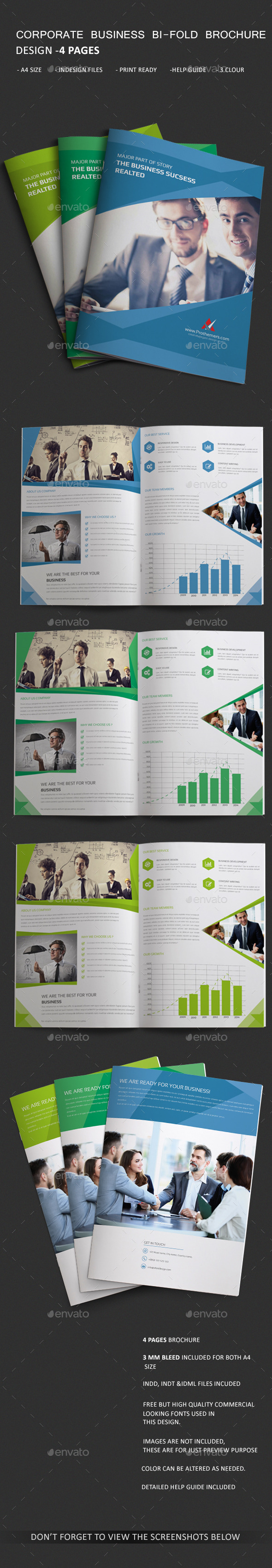 GraphicRiver Corporate Bi-fold Brochure 11171159