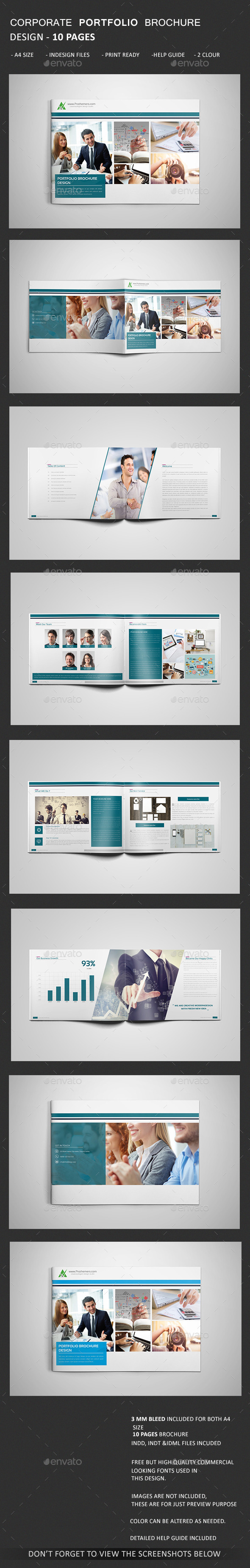 GraphicRiver Portfolio Brochure 11171232