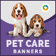 Pet Care Banners - GraphicRiver Item for Sale