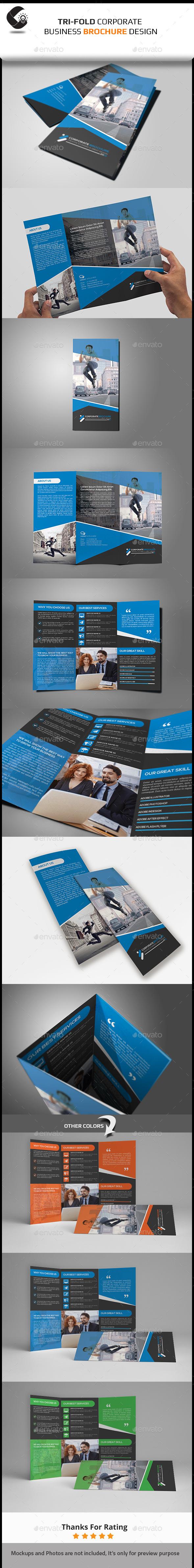 GraphicRiver Tri-Fold Corporate Brochure 11171295