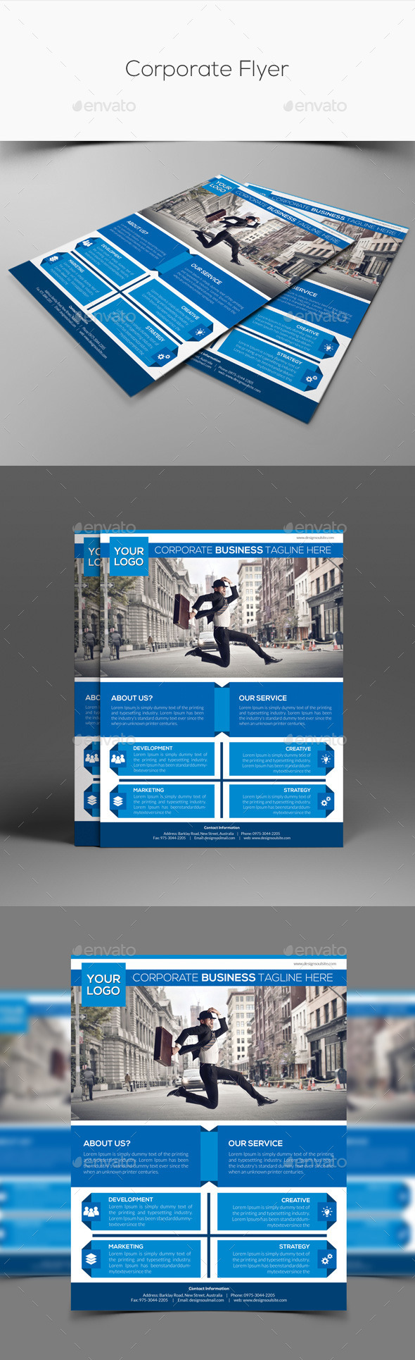 GraphicRiver Corporate Flyer 11171331