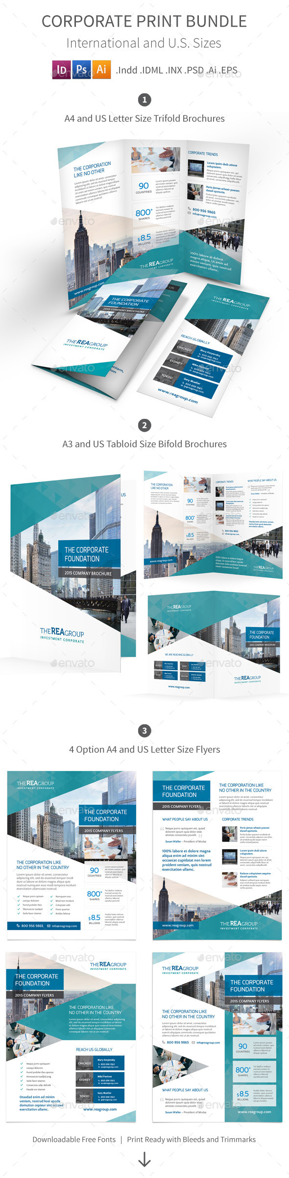 GraphicRiver Corporate Print Bundle 11171427