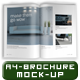 Photorealistic A4 Brochure / Magazine Mock-Up - GraphicRiver Item for Sale