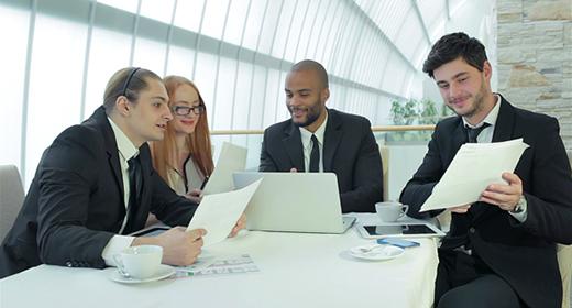 Successful businessmen