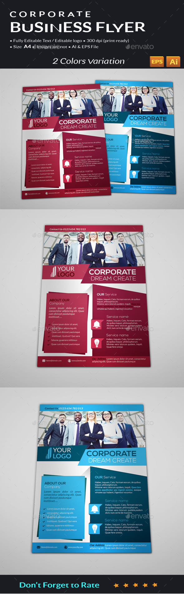 GraphicRiver Corporate Business Flyer 11171656