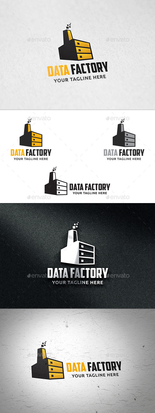 GraphicRiver Data Factory Logo Template 11171668